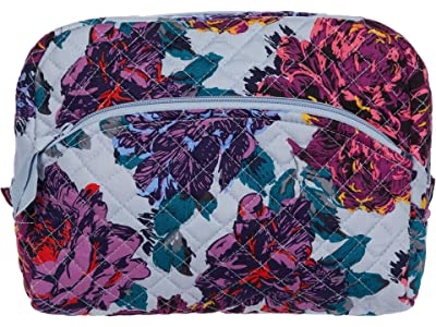 Vera Bradley Large Cosmetic (Neon Blooms) Cosmetic Case