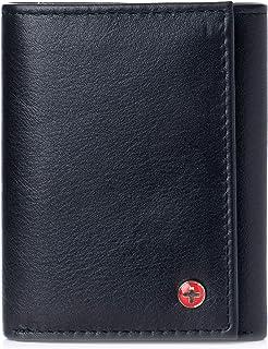 Mens Wallet RFID Blocking Extra Capacity Multi Card Trifold