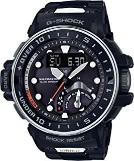 [カシオ] 腕時計 ジーショック GULFMASTER 電波ソーラー GWN-Q1000MCA-1BJF メンズ ブラック