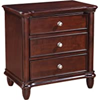 Picket House Furnishings 3-drawer Hamilton Nightstand (Brown)