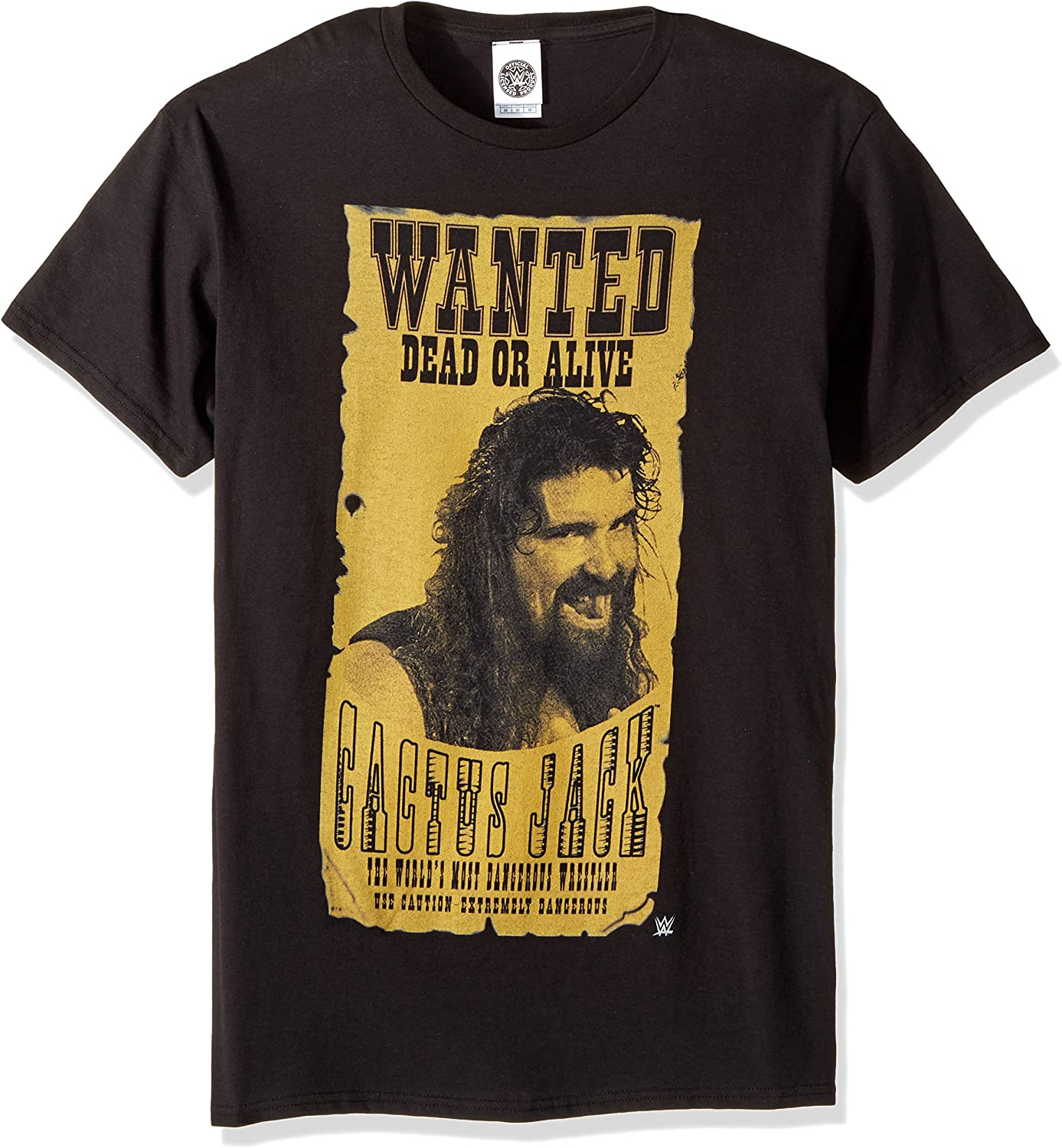 WWE Cactus Jack Wanted Dead Or Alive - Camiseta para hombre ...