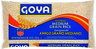 Goya Foods Medium Grain Rice, 3 Pound (pack of 20)