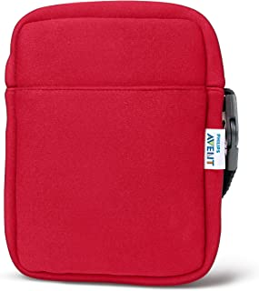 Philips Avent SCD150/50 - ThermaBag de neopreno para biberones, color rojo