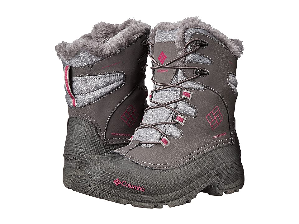 Columbia Kids Bugaboottm Plus III Omni-Heattm Boot (Little Kid/Big Kid) (Shale/Deep Blush) Girls Shoes