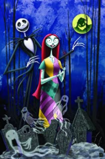 "Trends International The Nightmare Before Christmas Romance Wall Poster 22.375"" x 34"""