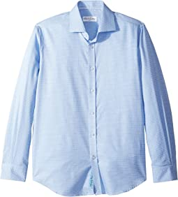 Edmundo Check Long Sleeve Dress Shirt