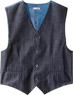 Cross Hatch Slub Vest (Big Kids)