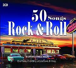 2CD 50 Songs Rock & Roll, Elvis Presley,Pete Johnson, Chuck Berry, Ray Charles, Rock Roll Music