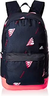 adidas Unisex Classic Pocket Graphics Backpack, Legend Ink/Solar Red/White