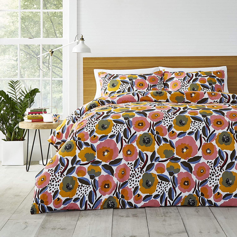 Marimekko Rosarium Ranking TOP12 Comforter King Pink Oakland Mall Set