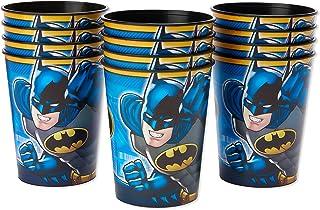 American Greetings Batman Plastic Cups Paper, 16 oz