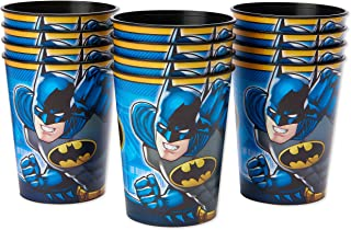American Greetings Batman Party Supplies, Plastic Party Cups (12-Count)