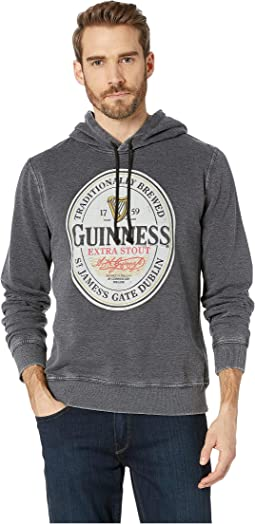 Guinness Burnout Fleece Hooded Sweatshirt