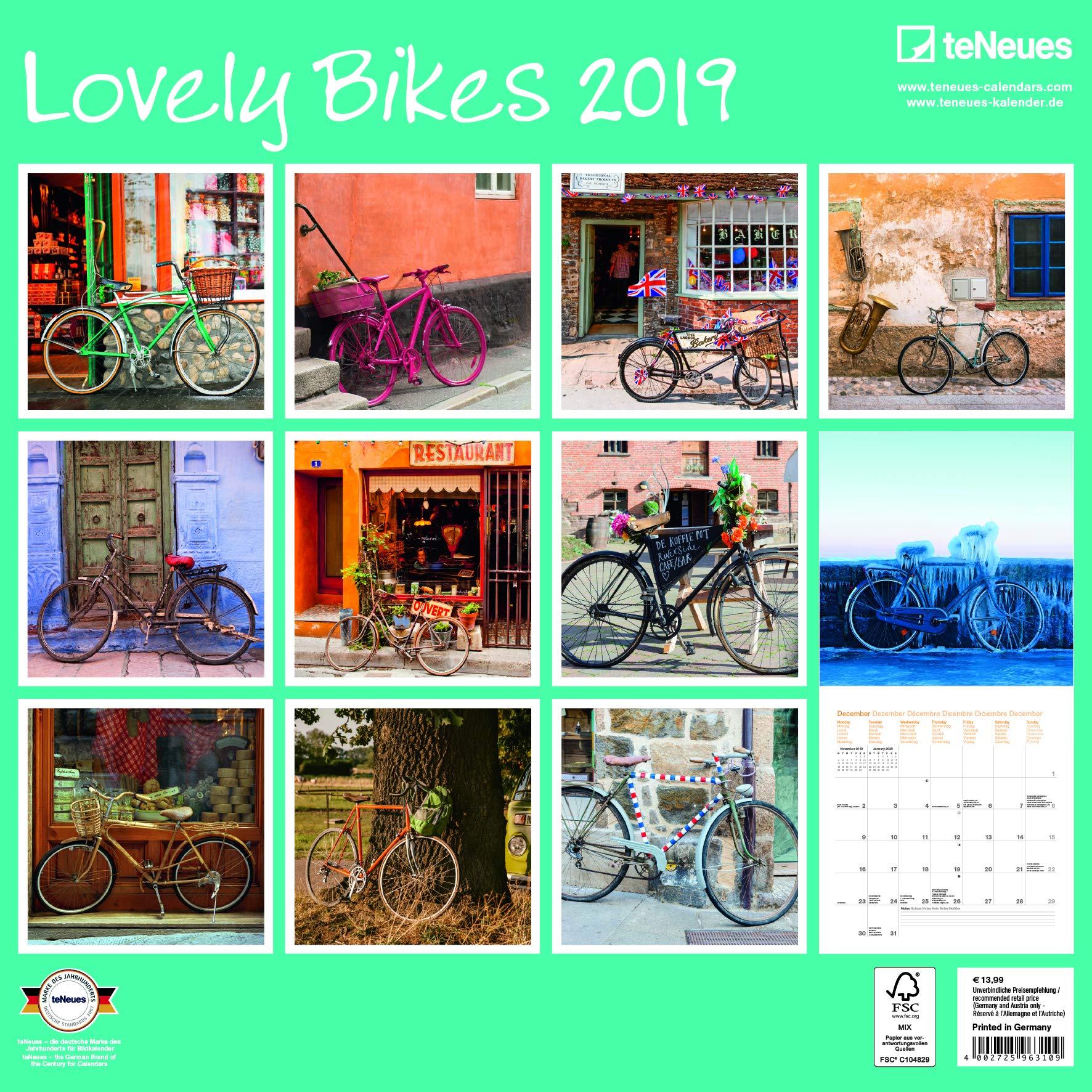 Calendario 2019 Jolie bicicleta – Bicicleta Retro – Bicicleta ...