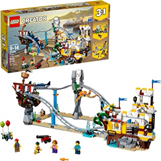 LEGO Creator 3in1 Pirate Roller Coaster 31084 Building Kit (923 Pieces)