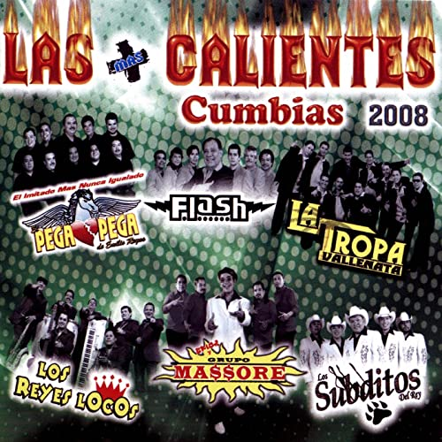 Las Mas Calientes Cumbias 2008 by Various artists on Amazon Music - Amazon.com
