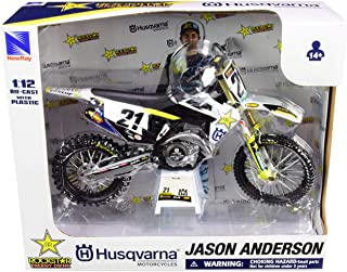 FC450#16 Jason Anderson Rockstar Energy Drink 1/12 Diecast Motorcycle Model by New Ray 58233
