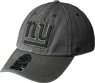 '47 NFL New York Giants Sachem Franchise Fitted Hat, Medium, Charcoal