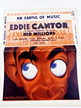 An Earful of Music -Eddie Cantor Kid Millions Cover- Orchestra Arrangement- Sheet Music