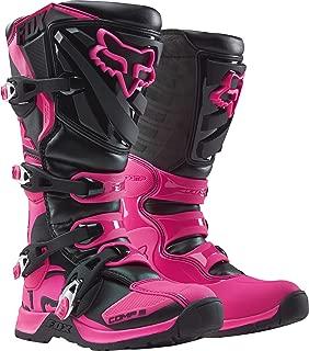 2018 Fox Racing Womens Comp 5 Boots-Black/Pink-8