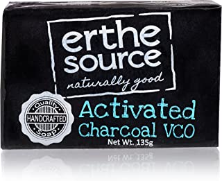 Activated Charcoal Soap With Virgin Coconut Oil | For Acne, Blackheads & Impurities | Face Moisturizing,Cleansing, Exfoliating, Purifying Soap For Women, Men And Teens
