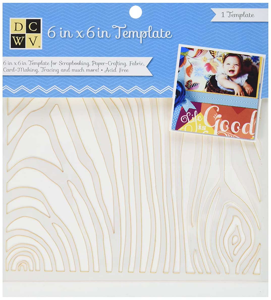Diecuts with A View EM-033-00007 Templates, 6