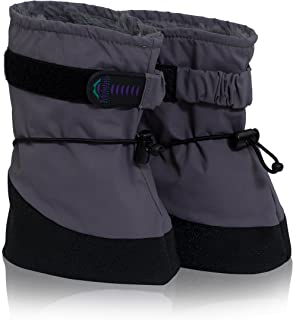 Molehill Baby/Infant/Toddler Boot (Boys & Girls) - Lightweight for Mild to Cold Weather Booties
