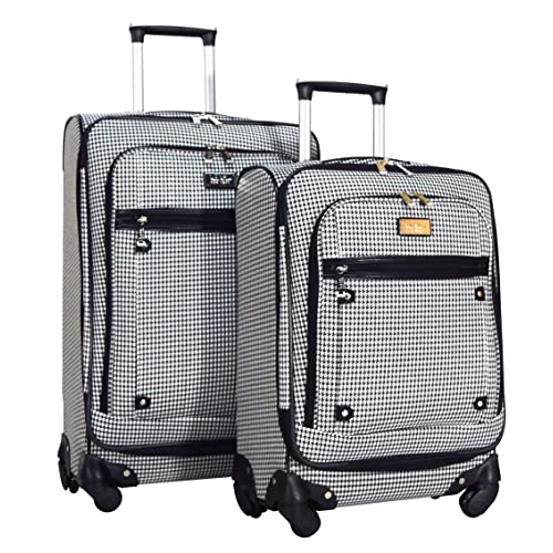 d2098525955f Nicole Miller New York Taylor 2-Piece Luggage Set  24