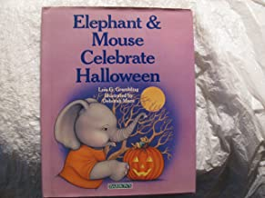 Elephant and Mouse Celebrate Halloween