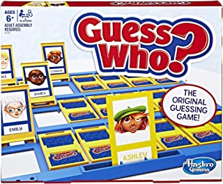 Hasbro 孩之宝C2124 猜猜我是谁?经典家庭娱乐策略演绎棋盘游戏6岁以上儿童