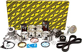 Standard Size Evergreen PA20500.STD Fits 97-04 Ford F150 E150 E250 Freestar Mercury 4.2L 256 OHV 2 Engine Piston Set