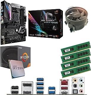 Components4All AMD Ryzen 5 1500 x 3,6 GHz (Turbo 3,7 GHz) Quad Core Eight Thread CPU, ASUS ROG Strix X370-F Gaming moderko...