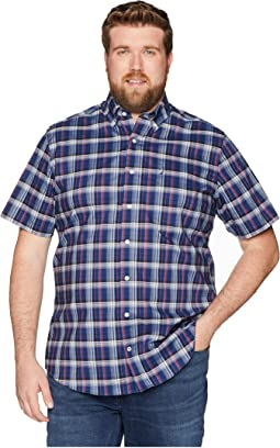 Big & Tall Plaid Woven