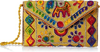 FRESSIA Women's Cotton Clutch Handbag