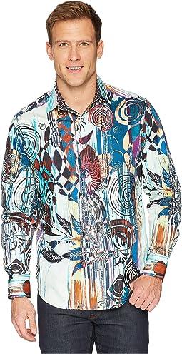 Robert Graham Borrego Long Sleeve Woven Shirt