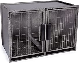 Proselect Modular Kennel Dog Crate in Graphite