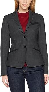 LUDAGED Giacca da Donna per Uomo Giacca Doppiopetto da Ufficio Manica Lunga Doppio Petto e Set di Nove Pantaloni Scozzesi Set da 2 Pezzi da Donna