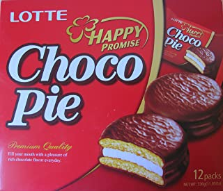 Lotte Choco Pie, (Pack of 36)