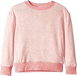 Loose Knit Long Sleeve Top (Big Kids)