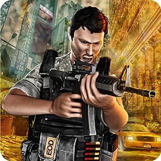 スワットフォーステロリスト攻撃戦闘サバイバルシミュレーターアクション:米軍エリートフォースコマンドーバトルフィールド戦闘アドベンチャーミッションゲーム無料キッズ2018