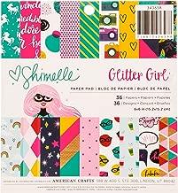 Shimelle Glitter Girl Paper Pad 6