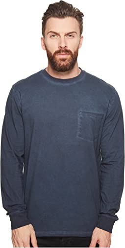 Threads 4 Thought - Rainwash Long Sleeve Pocket Crew