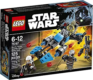 LEGO Star Wars Bounty Hunter Speeder Bike Battle Pack 75167 Building Kit