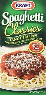 Kraft Spaghetti Classics, Tangy Italian, 8 oz