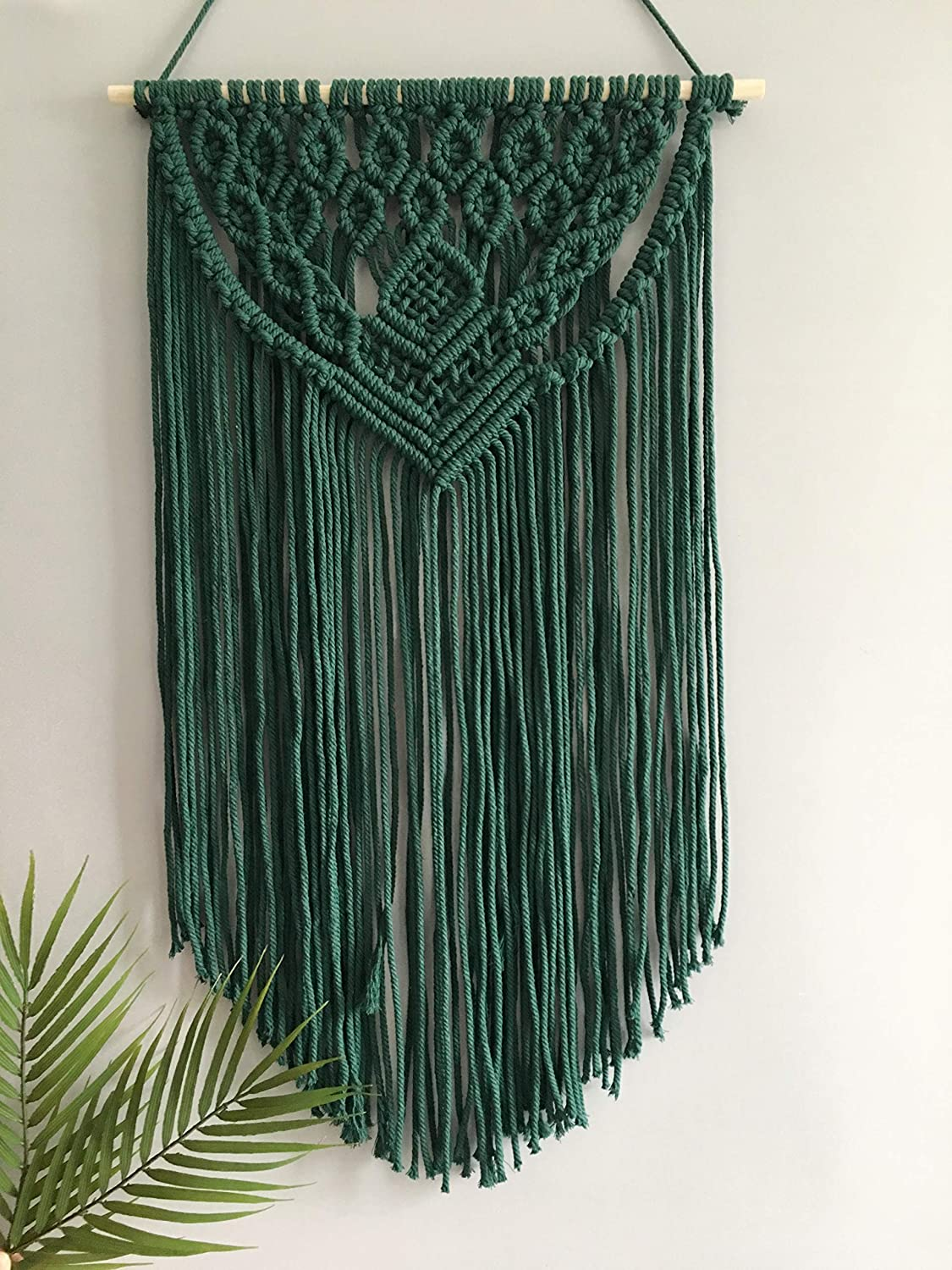 Winterdemoon Macrame Wall Hanging Boho Decor Max 78% OFF Woven Ranking TOP10 Tapestry Home