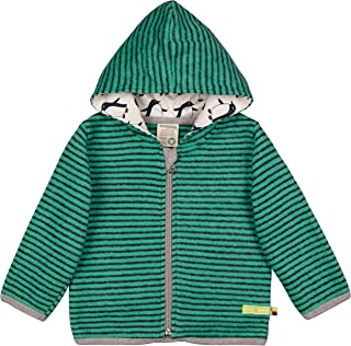 loud + proud 中性婴儿夹克*棉羊毛衫,GOTS 认证运动夹克