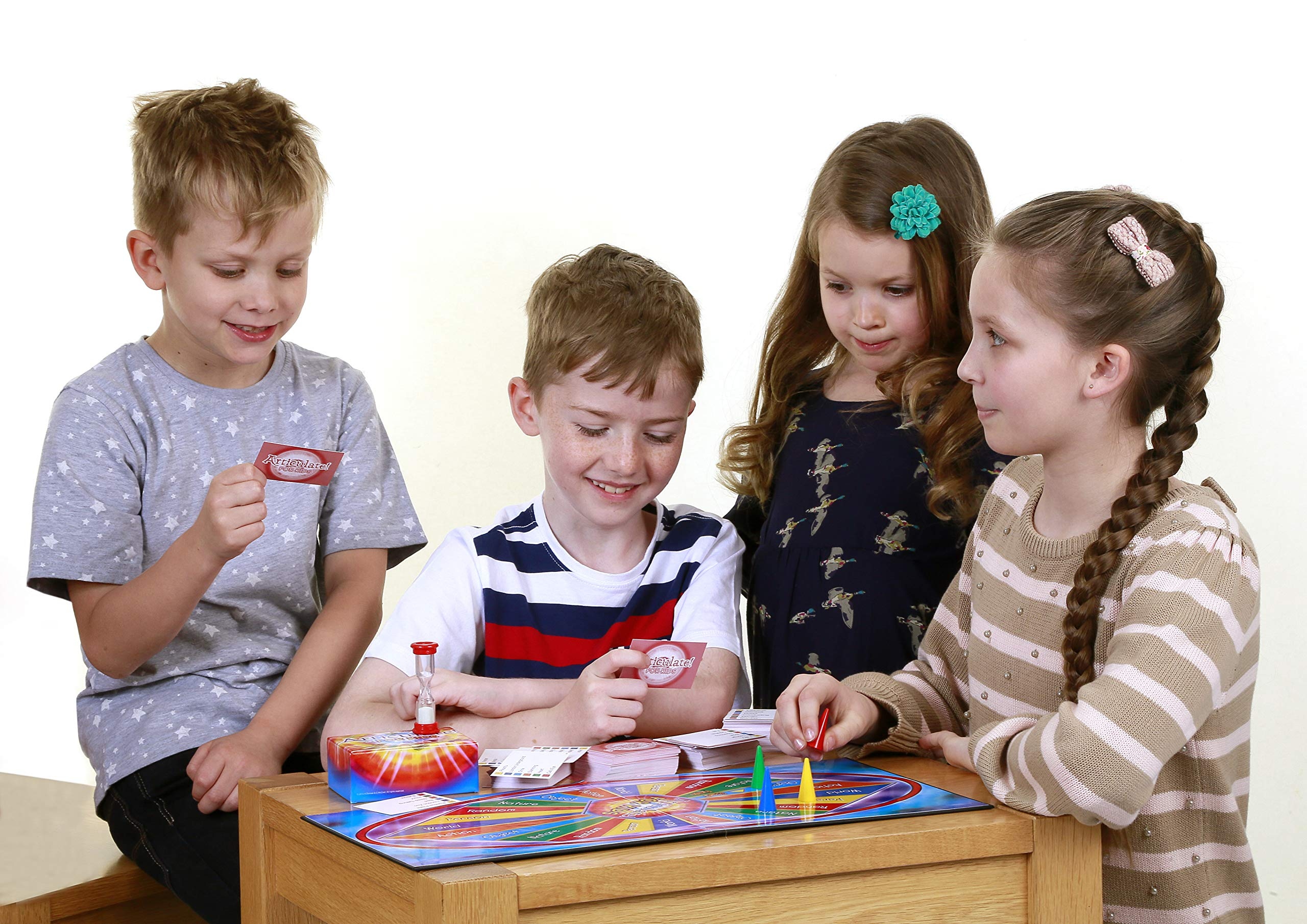 Drumond Park Articulate! for Kids - Family Kids Board Game | The Fast Talking Description Game|An Ideal Christmas Gift, Family Games for Adults and Children Suitable from 6+ Years