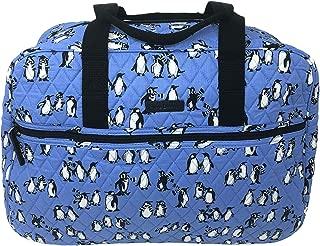 Medium Traveler Bag in Playful Penguins Blue (Playful Penguins Blue)