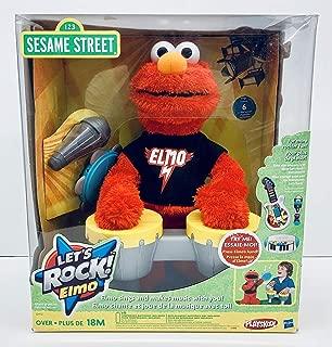 Elmo Let's Rock Elmo Animated Plush 14