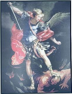 JWG Industries Saint Michael The Archangel Wall Art Modern Picture